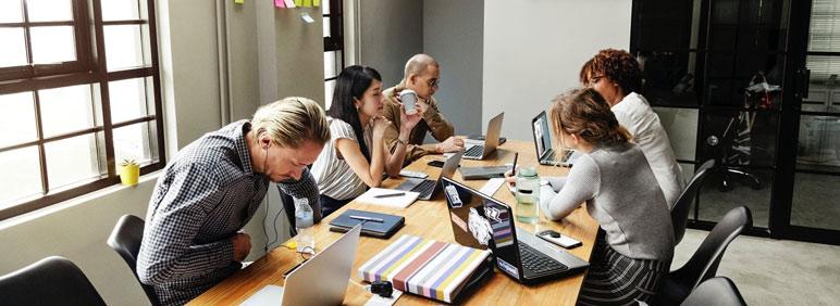 Cómo influye la distribución de la oficina en la productividad laboral