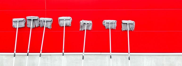 Reducir los costes de limpieza