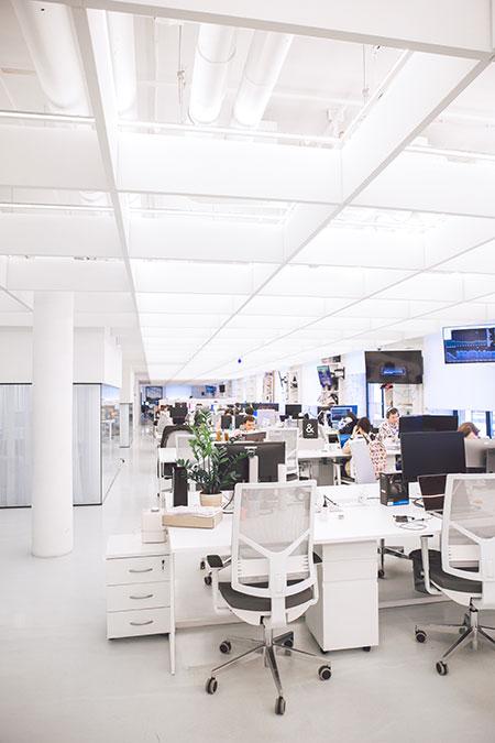 los olores en el diseño de oficina